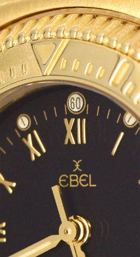 Foto 3, Ebel Disovery 1911 Damenuhr Gelbgold Geprüft Neuzustand, U1270
