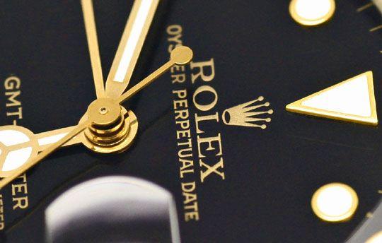Foto 3, Rolex GMT Master Stahlgold Herren Uhr GMT Master Topuhr, U1273
