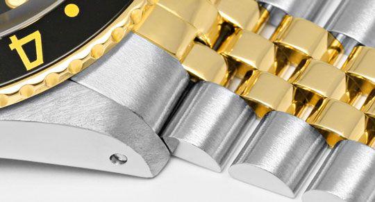 Foto 4, Rolex GMT Master Stahlgold Herren Uhr GMT Master Topuhr, U1273
