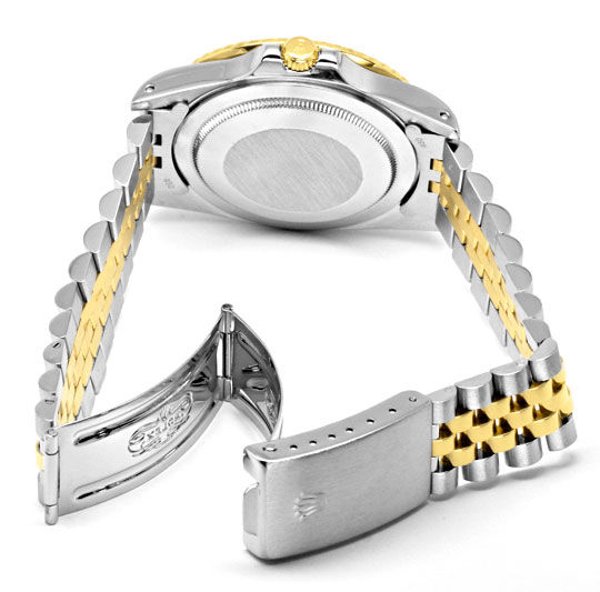 Foto 5, Rolex GMT Master Stahlgold Herren Uhr GMT Master Topuhr, U1273