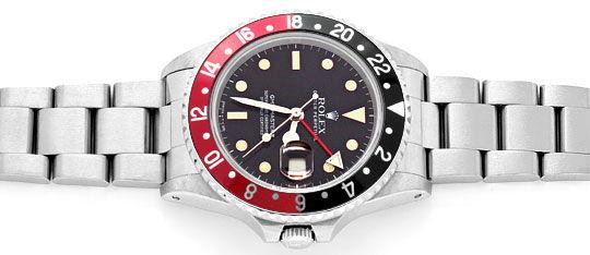 Foto 1, Rolex GMT Master 2 Rot Schwarz Oyster Neuzustand Topuhr, U1275