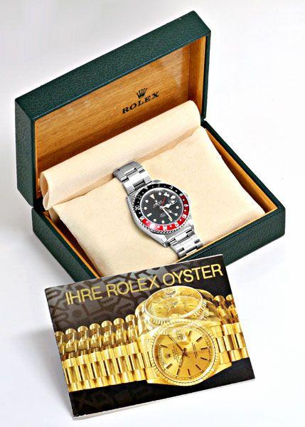 Foto 6, Rolex GMT Master 2 Rot Schwarz Oyster Neuzustand Topuhr, U1275