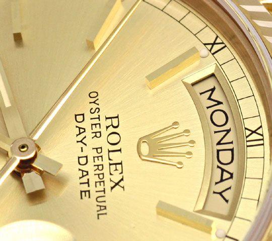Foto 3, Rolex Day Date Oyster Perpetual fast Neuzustand Geprüft, U1277