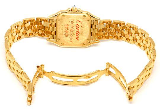 Foto 4, Cartier Panthere Diamant Gehäuse Lünette, Damen Geprüft, U1280