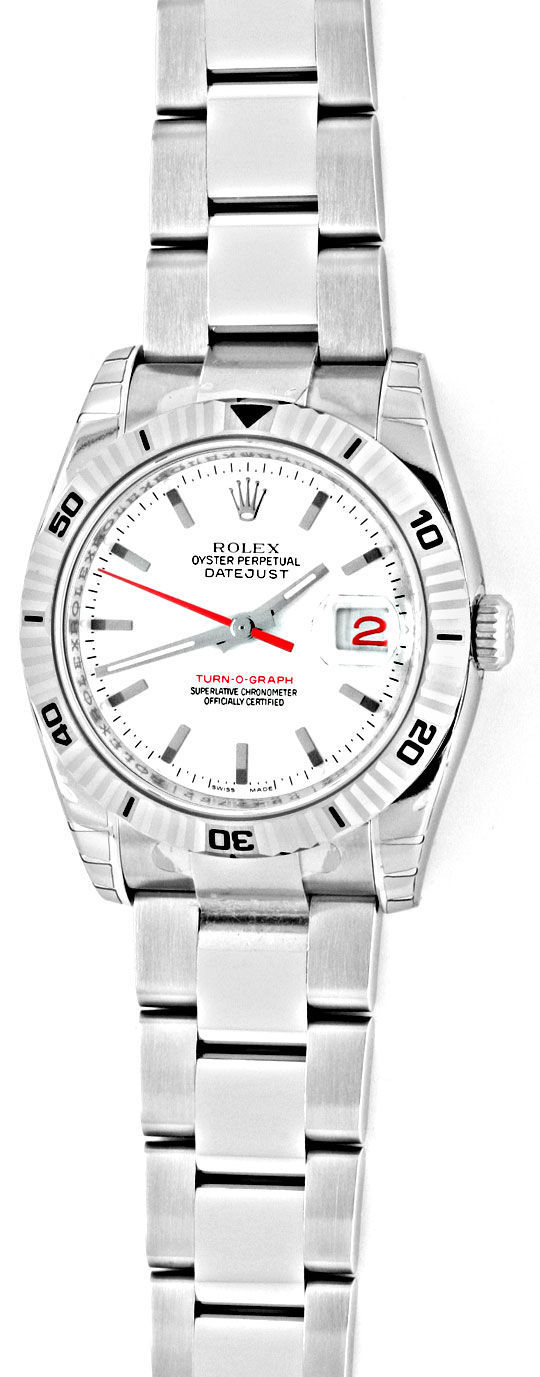 Foto 2, Rolex Datejust Turn O Graph Oysterband Shop! Ungetragen, U1283