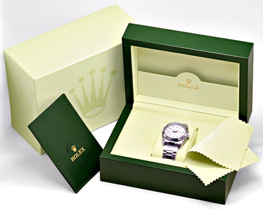Foto 5, Rolex Datejust Turn O Graph Oysterband Shop! Ungetragen, U1283