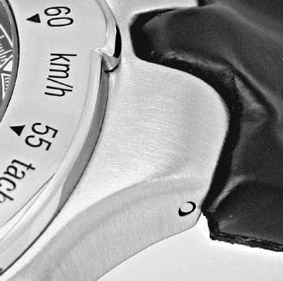 Foto 4, Ebel Sportwave Chronograph Sport Wave Leder Falt Topuhr, U1291