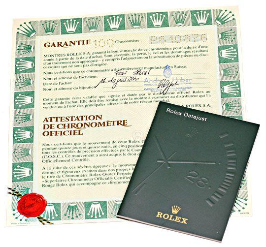 Foto 6, Rolex Gelbgold Damen Armbanduhr Oyster Perpetual Topuhr, U1293
