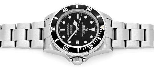 Foto 1, Rolex Sea Dweller 4000 Seadweller 16600 Fliplock Topuhr, U1294