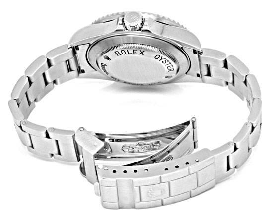 Foto 5, Rolex Sea Dweller 4000 Seadweller 16600 Fliplock Topuhr, U1294