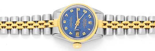 Foto 1, Rolex Damen Uhr Stahlgold Automatik Jubilee Band Topuhr, U1304