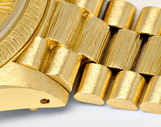 Foto 4, Rolex Damen Armbanduhr Gold Diamant Zifferblatt Geprüft, U1309