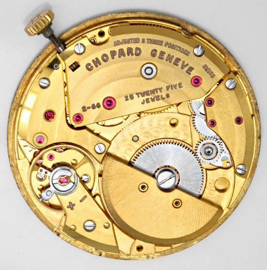 Foto 9, Chopard Herren Automatik Gelbgold, Classic Homme Topuhr, U1325