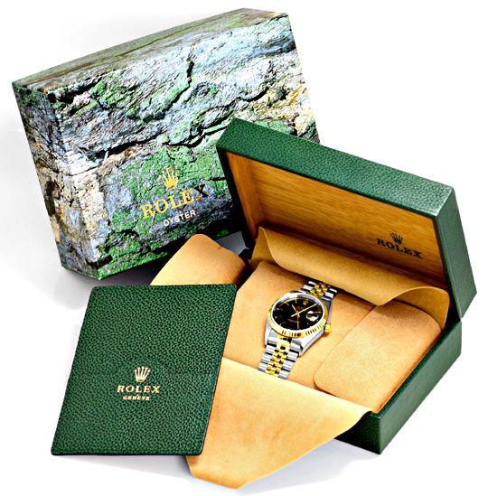 Foto 6, Ungetragene Rolex Datejust Herren Uhr Stahl Gold Topuhr, U1329