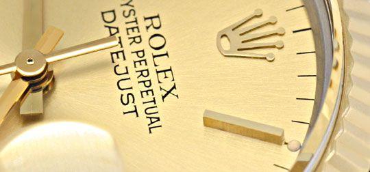 Foto 3, Rolex Datejust Jubile Stahlgold Herrenarmbanduhr Topuhr, U1332