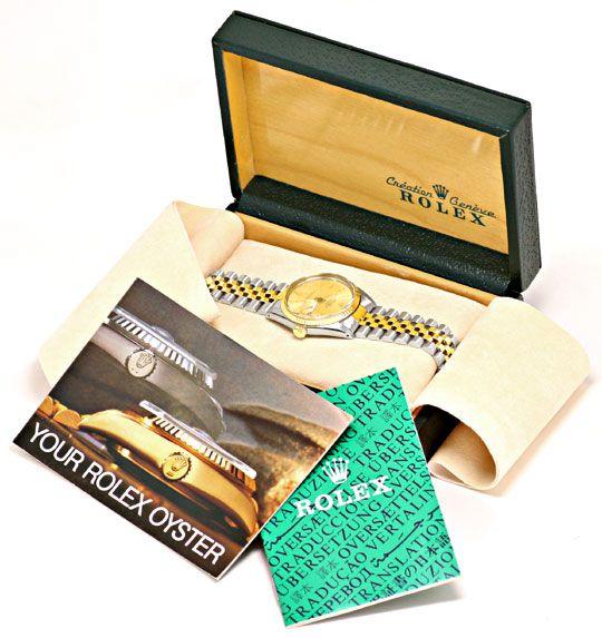 Foto 6, Rolex Datejust Jubile Stahlgold Herrenarmbanduhr Topuhr, U1332