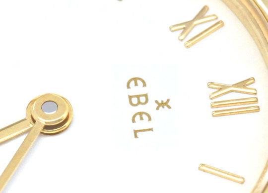 Foto 3, Ebel Sport Classic, Damen Armband Uhr Stahl Gold Topuhr, U1334