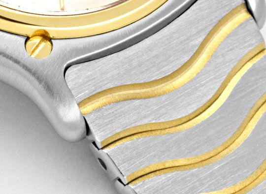 Foto 4, Ebel Sport Classic, Damen Armband Uhr Stahl Gold Topuhr, U1334