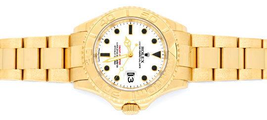 Foto 1, Rolex Yachtmaster Date 40mm Gelbgold Ungetragen Geprüft, U1338