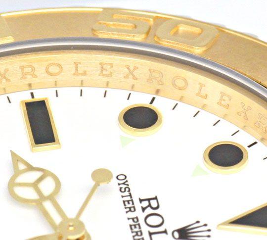 Foto 3, Rolex Yachtmaster Date 40mm Gelbgold Ungetragen Geprüft, U1338