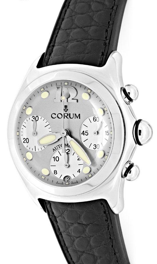 Foto 2, Corum Bubble Automatik Chronograph ST Topuhr Ungetragen, U1343