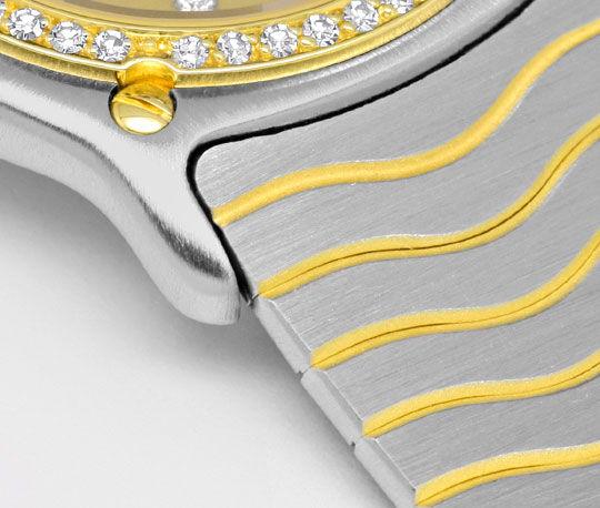 Foto 4, Ebel Junior Sport Classic Stahlgold 59 Diamanten Topuhr, U1347
