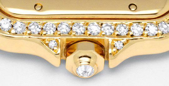 Foto 8, Cartier Panthere Damen Gold Org.Diamant Gehäuse Geprüft, U1349