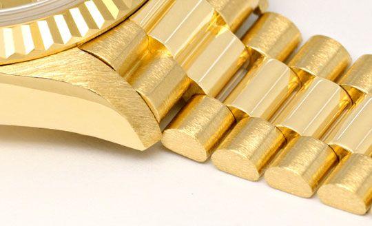 Foto 4, Rolex Lady Datejust Gold, Diamanten, Neuzustand Geprüft, U1363