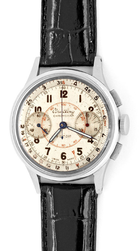 Foto 2, Breitling Chronograph Chronomat ct 1.2.1. A 769 1944 St, U1371