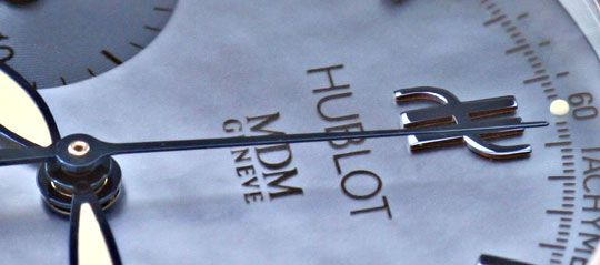 Foto 3, Hublot Elegant Chronograph Automatik, Ungetragen Topuhr, U1372