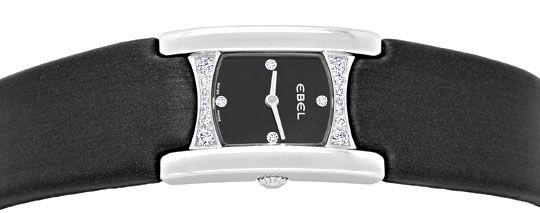 Foto 1, Ebel Beluga Manchette Da, Diamant Gehäuse Ziffer Topuhr, U1378