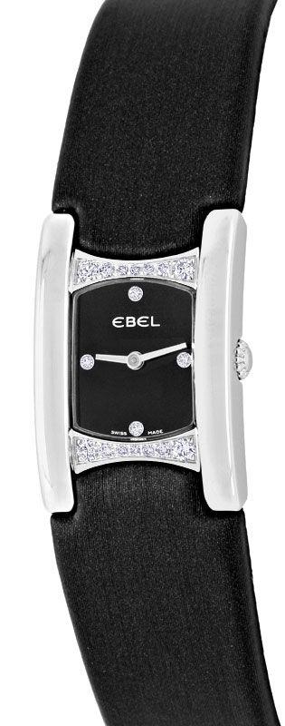 Foto 2, Ebel Beluga Manchette Da, Diamant Gehäuse Ziffer Topuhr, U1378