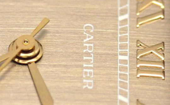 Foto 3, Cartier Santos Galbee Uhr Herren Armband Uhr Stahl Gold, U1384
