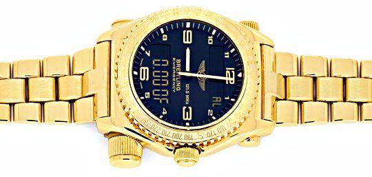 Foto 1, Breitling Emercency Professional in 18K Gelbgold, 276Gr, U1390