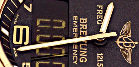 Foto 3, Breitling Emercency Professional in 18K Gelbgold, 276Gr, U1390