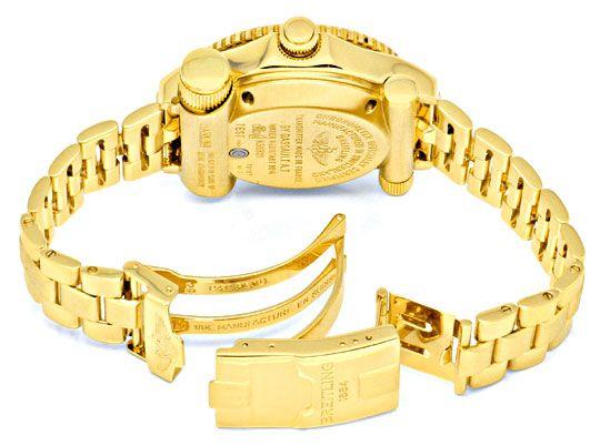 Foto 5, Breitling Emercency Professional in 18K Gelbgold, 276Gr, U1390