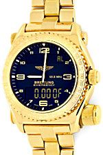 Breitling Emercency Professional in 18K Gelbgold, 276Gr