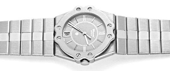 Foto 1, Chopard St. Moritz Stahl, Herren Uhr, Neuzustand Topuhr, U1399