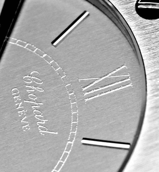 Foto 3, Chopard St. Moritz Stahl, Herren Uhr, Neuzustand Topuhr, U1399