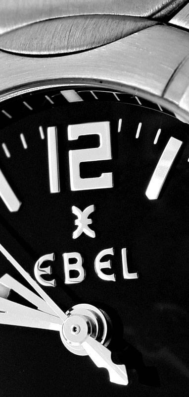 Foto 3, Ebel Lady E Type Etype, Datum Sekunde, Stahl Ungetragen, U1401