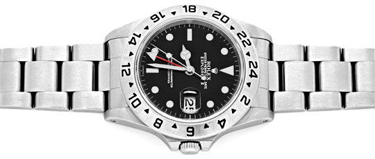 Foto 1, Rolex Explorer 2 Oyster-Lock Date Chronometer ST Topuhr, U1405