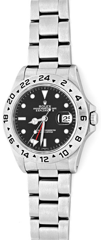 Foto 2, Rolex Explorer 2 Oyster-Lock Date Chronometer ST Topuhr, U1405