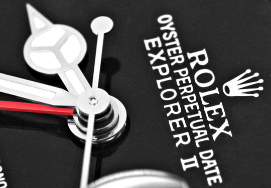 Foto 3, Rolex Explorer 2 Oyster Lock Date Chronometer ST Topuhr, U1405