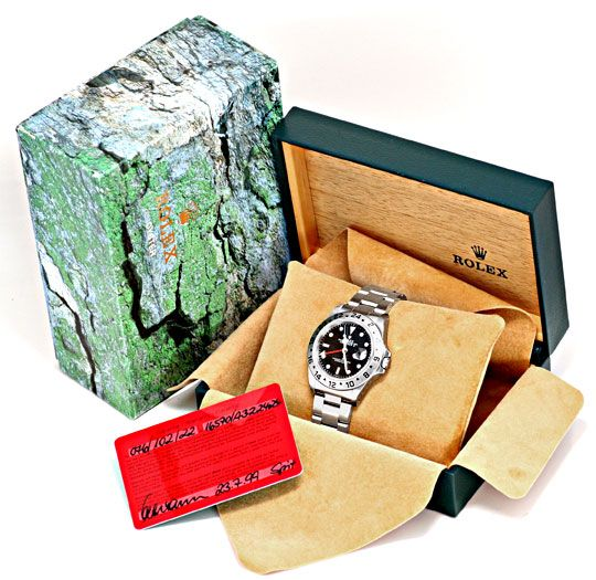 Foto 8, Rolex Explorer 2 Oyster Lock Date Chronometer ST Topuhr, U1405