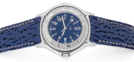 Foto 1, Ebel Discovery Herren Uhr Stahl Haifischband Ungetragen, U1425
