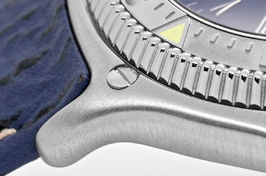 Foto 4, Ebel Discovery Herren Uhr Stahl Haifischband Ungetragen, U1425