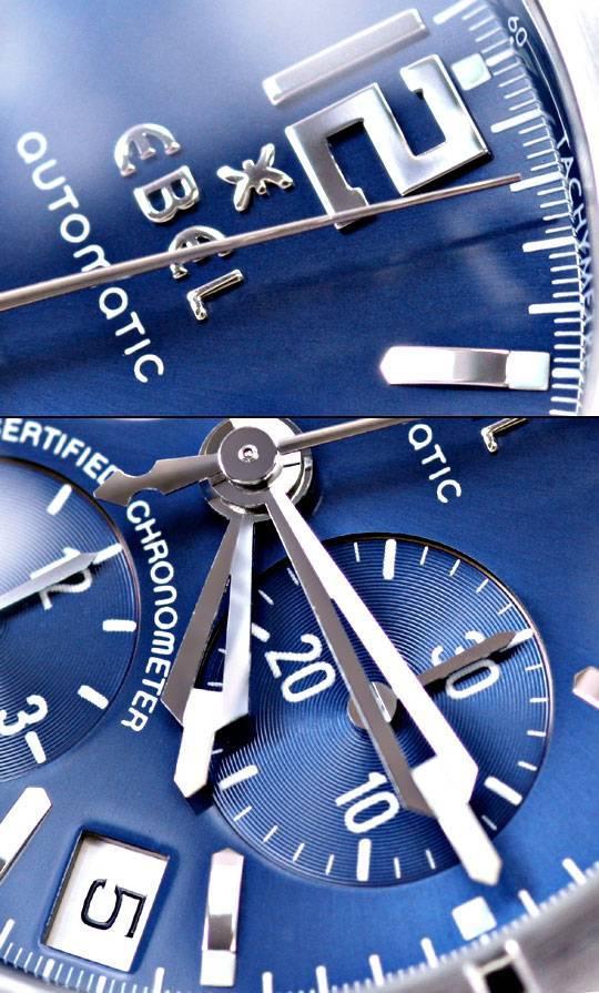 Foto 3, Ebel E Type Chronograph Chronometer Automatik ST Topuhr, U1427
