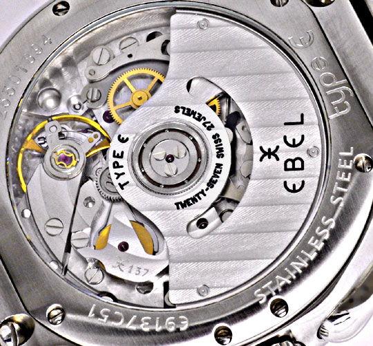 Foto 6, Ebel E Type Chronograph Chronometer Automatik ST Topuhr, U1427