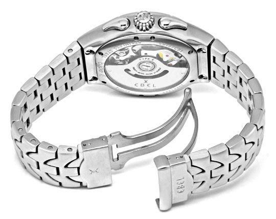 Foto 8, Ebel E Type Chronograph Chronometer Automatik ST Topuhr, U1427