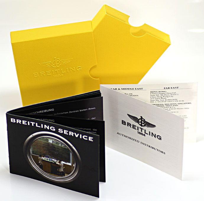 Foto 8, Breitling Chronomat Hr Stahl Gold Pilot Band Neuzustand, U1435